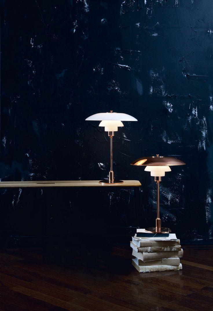 PH 3,5-2,5 copper table lamp