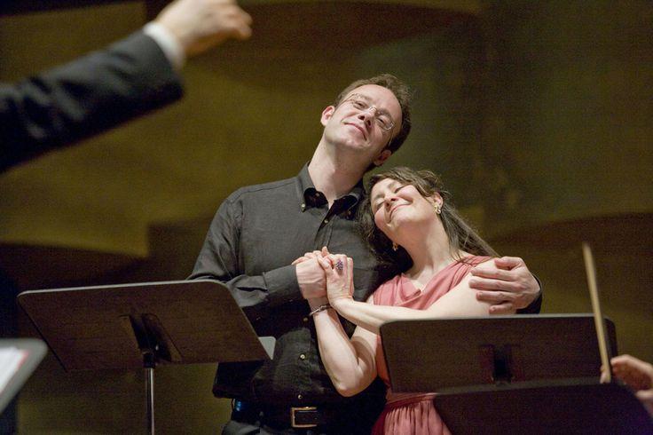 Maurizio Lo Piccolo ed Elena Cecchi Fedi