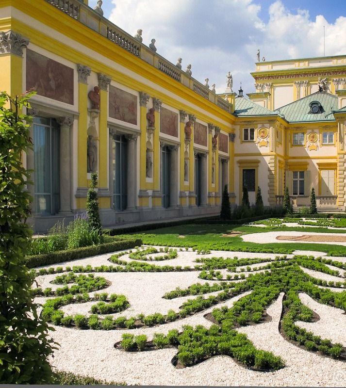 Pałac w Wilanowie. POLAND