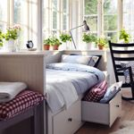 Bedroom Furniture - Beds, Mattresses & Inspiration - IKEA // This would be so perfect for my room!!!
