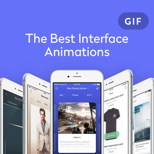 다음 @Behance 프로젝트 확인: \u201cThe Best Interface Animation by Yalantis\u201d https://www.behance.net/gallery/35371211/The-Best-Interface-Animation-by-Yalantis