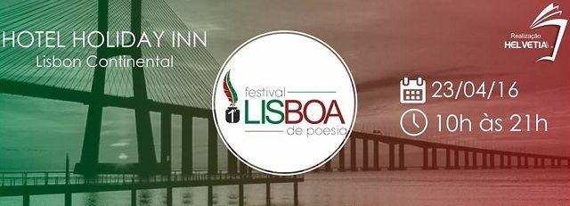 Festival de Poesia de Lisboa: Dia 23 de Abril no Holiday Inn Continental