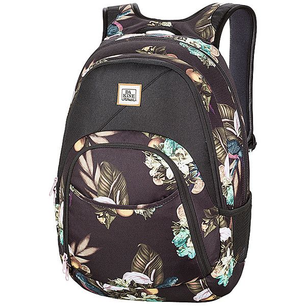DAKINE Eve Pack Laptop Backpack (€51) ❤ liked on Polyvore featuring bags, backpacks, black, laptop backpacks, dakine rucksack, day pack backpack, dakine backpack and rucksack bag