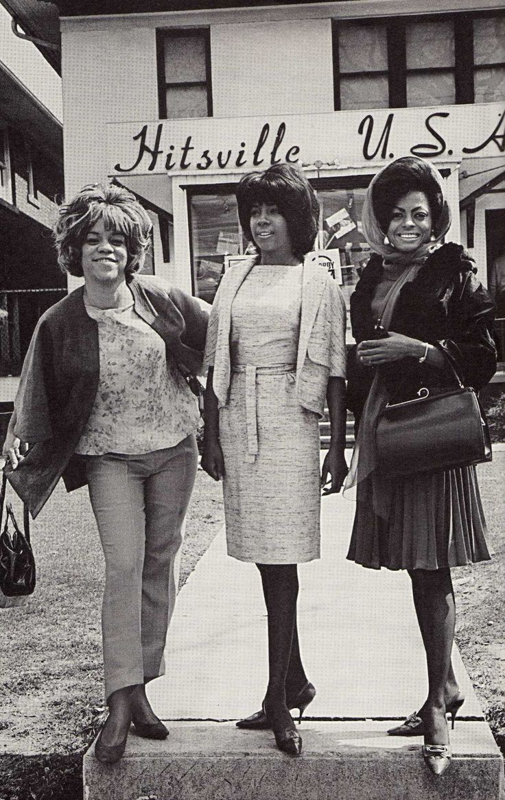"The Supremes at Motown Records' original recording studio-- now the Motown Museum. Does anyone else suddenly have ""Stop In The Name of Love"" stuck in their head?"