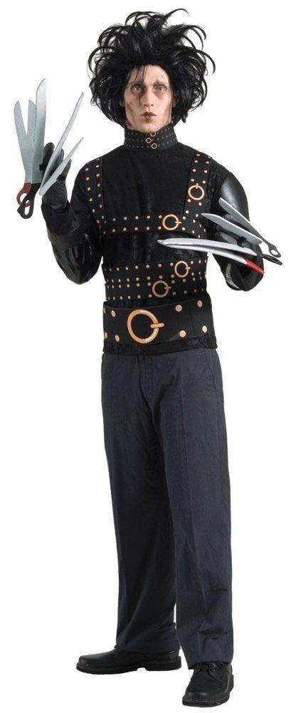 Costumes! Halloween Horror! Edward Scissorhands  Costume Set Teen, Adult  #ru #costume #halloweendosplay