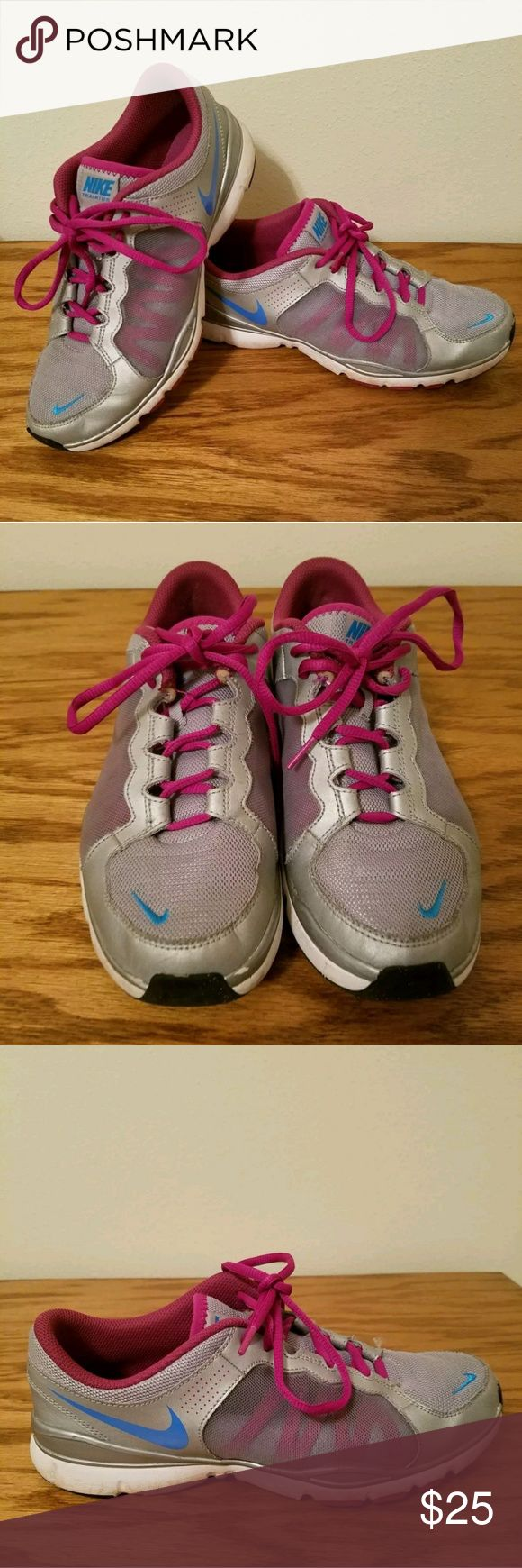 🔥MAKE OFFER🔥 Nike Training Flex TR2 Running Shoe Nike Training Flex TR2 Women's Shoes Size: 9.5  These are in GREAT shape! (See pictures)Very lightly used Great price Message me with any questions!  Thank you for looking! Please see the rest of my cool items! Nike Shoes Athletic Shoes