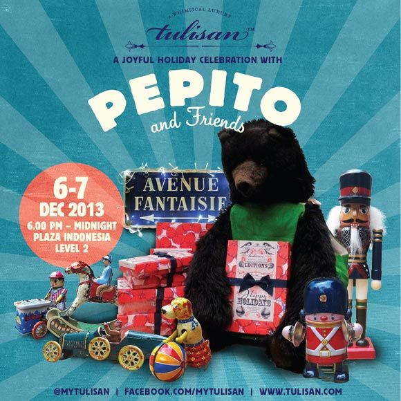 Meet Pepito and Friends at Plaza Indonesia