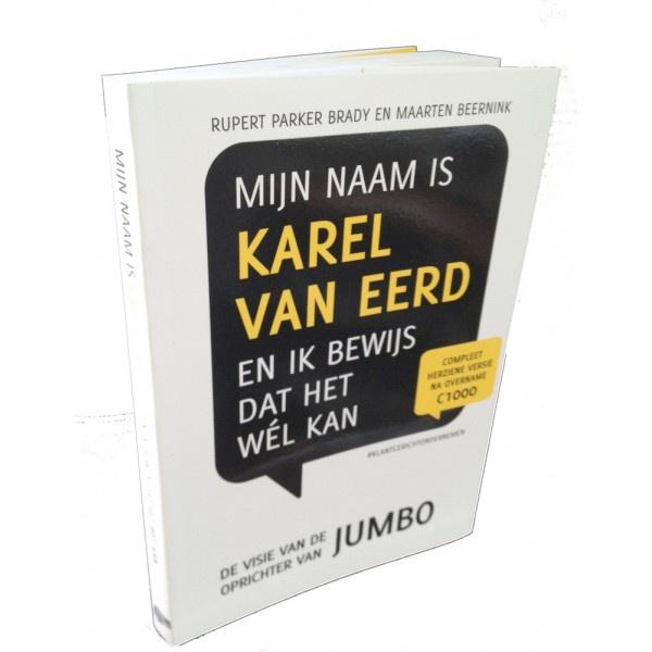 De auteurs laten de lezer kennismaken met het gedachtegoed van Karel van Eerd, oprichter van de Jumbo Supermarkten. De kern van het verhaal is dat de klanten centraal staan en dat alle acties gericht moeten zijn op het tevreden stellen van de klant. Ondanks de scepsis van de markt is het de oprichter gelukt om de Jumbo-formule in heel Nederland te introduceren.