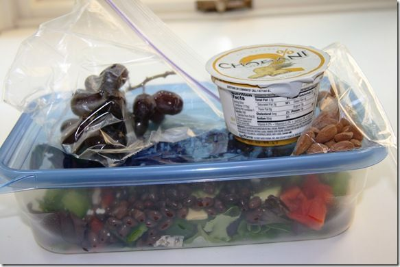 Packing lunches for college - nothing really new, but it looks so good!!!