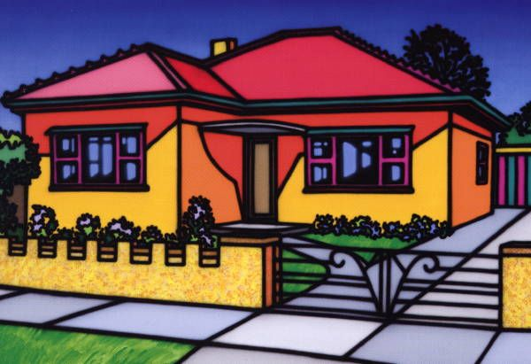 Splendid Superior Home (1989) - Howard Arkley