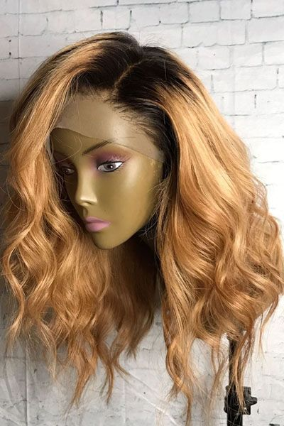 200% Density Full Body Wavy Lace front Wig - touchedbytim007