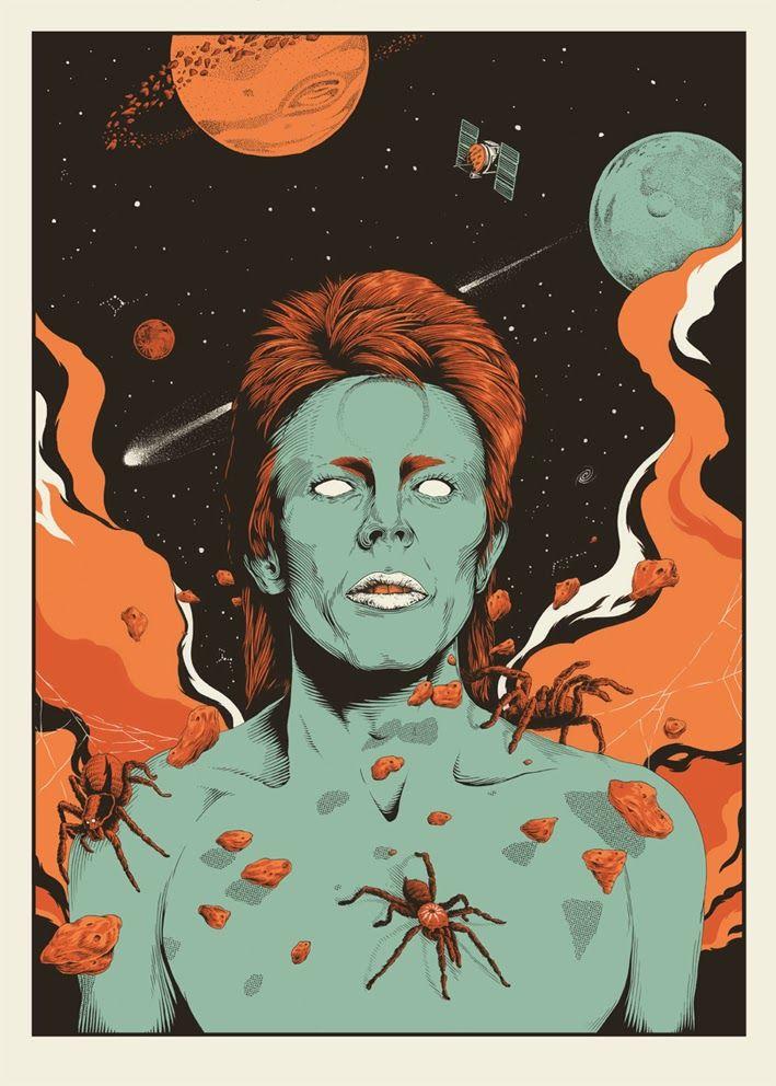 David Bowie - ''Spiders from Mars'' - Joe Wilson ----