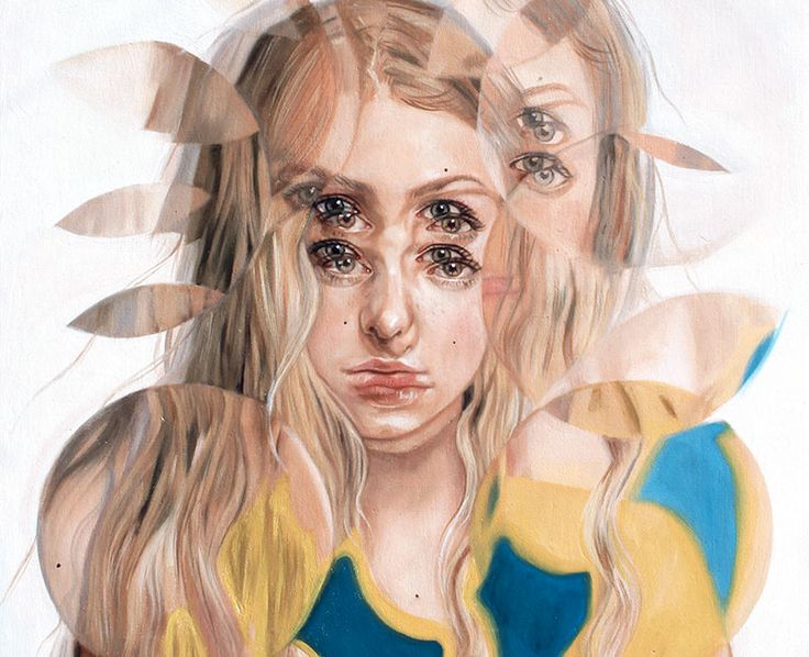 Quadri Surrealisti - Alex Garant Psyche - Olio su tela