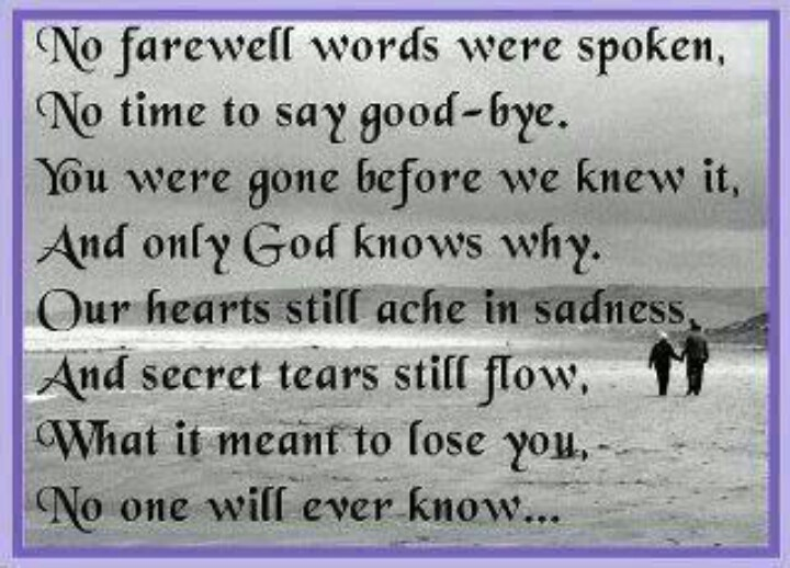 Missing loved ones | GREAT quotes | Pinterest | Missing ...
