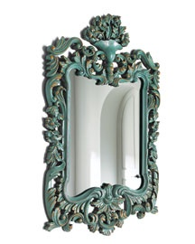 .Antiques Mirrors Frames Diy, Turquoise Mirrors, Mirrormirror, House, Painting Frames, Turquois Mirrors, Decor Mirrors, Turquois And Gold Decor, Mirrors Mirrors
