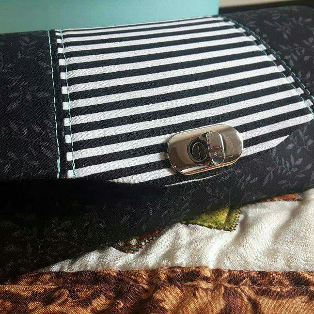Necessary Clutch Wallet from a pattern by Emmaline Bags.