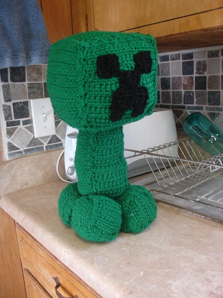 Amigurumi Free Pattern Creeper : 17 Best images about Minecraft Crochet on Pinterest ...