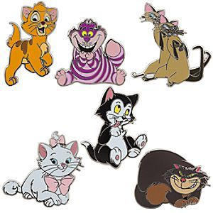 Disney Cats Pin Trading Booster Set | Disney StoreDisney Cats Pin Trading Booster Set - Six collectible cloisonn� kitties have clawed their way into this Disney Pin Trading Booster Set, direct from our Magic Kingdoms. Everybody wants to be a cat!