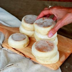 english muffins::super easy to make, cheaper than store bought and ten thousand times better!
