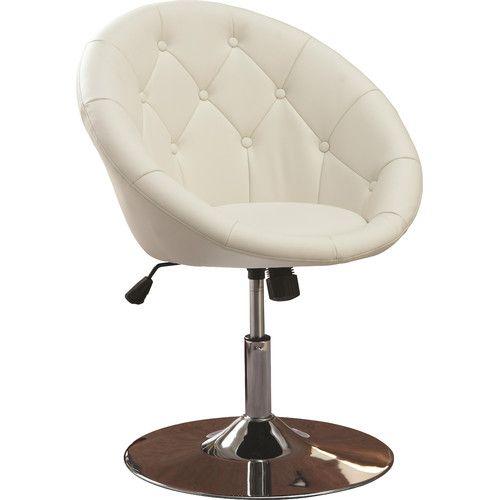 Found it at Wayfair - Noas Contemporary Tufted Back Tilt Swivel Barrel Chair