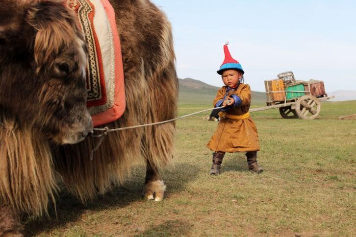Mongolian child :)