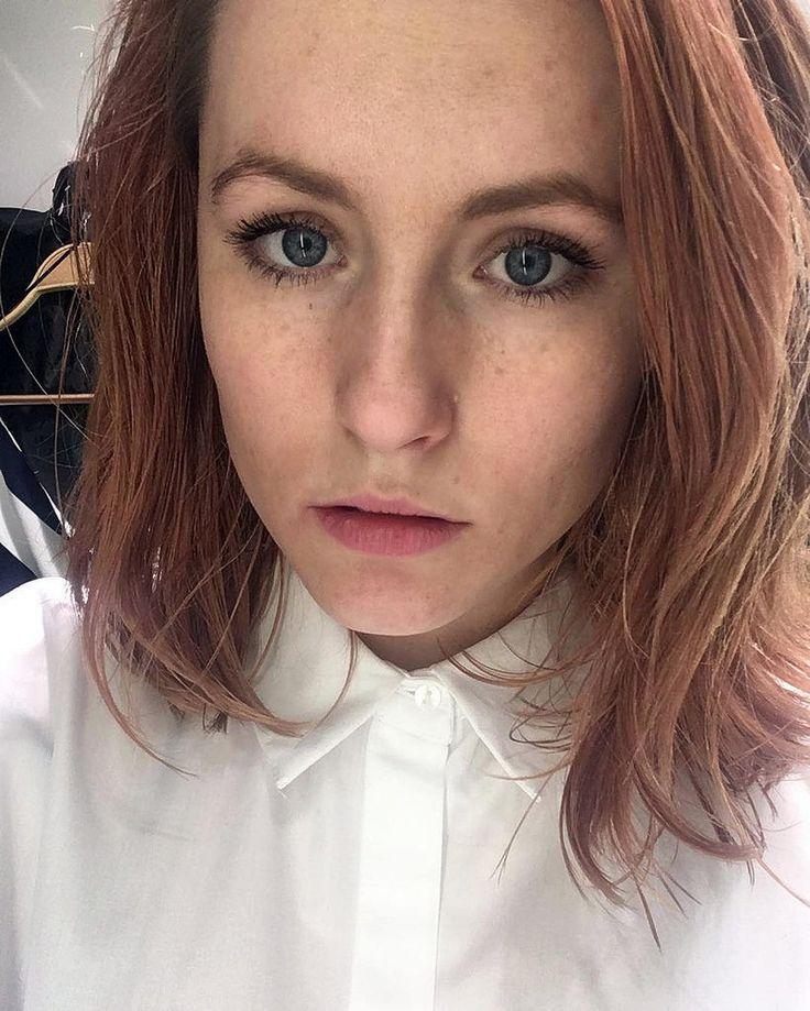 Selfie At Work Dressed In Formal White Shirt