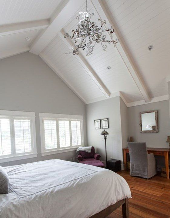 Best 25 cathedral ceiling bedroom ideas on pinterest master bedrooms cathedral ceilings and - Vaulted ceiling bedroom ...