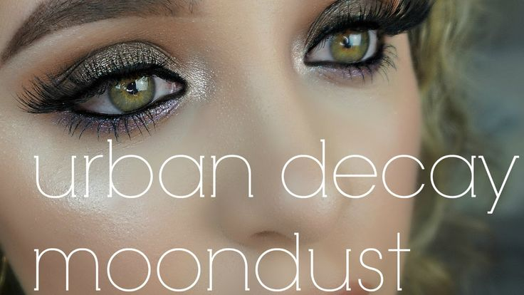 GET READY WITH ME   URBAN DECAY MOONDUST EYESHADOW PALETTE