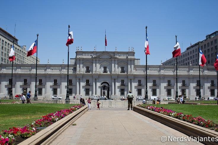 Palacio de la Moneda - Santiago - Chile