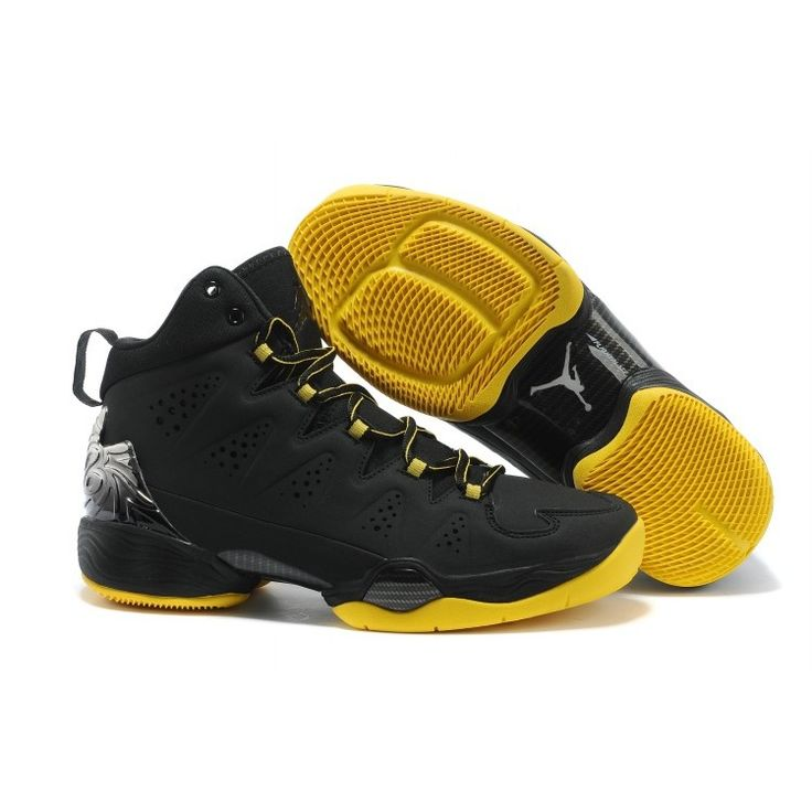 Air Jordan Melo M10 Black Yellow at kicksvovo.com