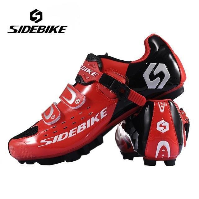 Hot SIDEBIKE Breathable MTB Cycling Shoes Adjustable Road Bike Shoes for Mountain Bike Racing MTB Bike Shoes Size EUR 40-46