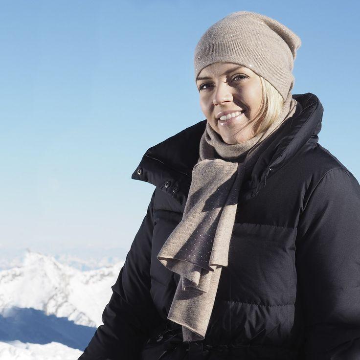 Balmuir St. Moritz scarf and beanie