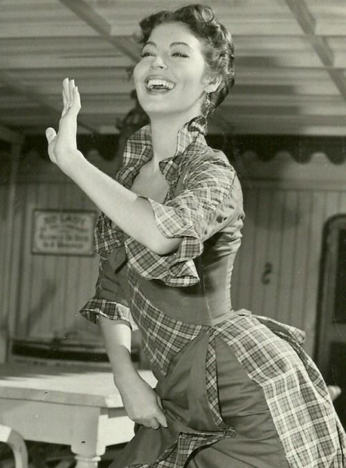 Love this movie, and her singing. Ava Gardner, Show Boat, 1951. Fish gotta swim, birds gotta fly...