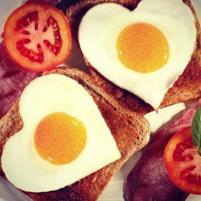 Desayuno de amor! Happy Day