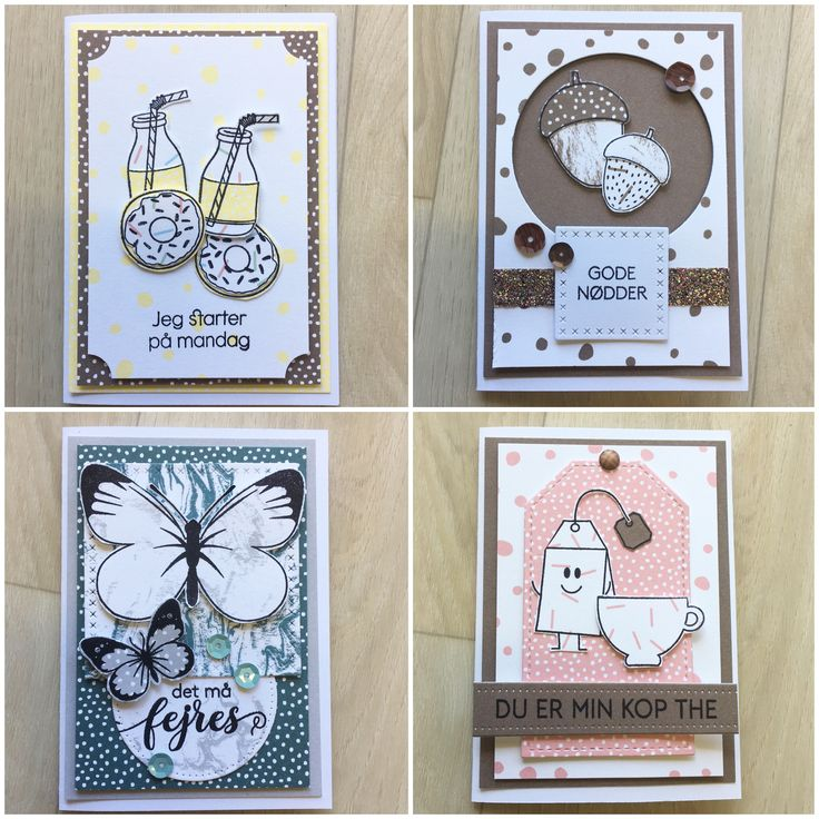 Stamps and paper from threescoops.dk