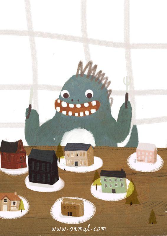 Little Gluttonous Monster on Behance