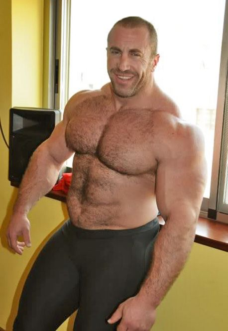 Bear gay man muscle