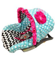 Infant Car Seat Covers For Girls | Pink Infant Car Seat Covers | Girl Infant Car Seat Covers
