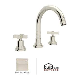 View the Rohl A2228XM-2 Lombardia Bath Widespread Bathroom Faucet includes Brass Pop-Up Drain Assembly at FaucetDirect.com.