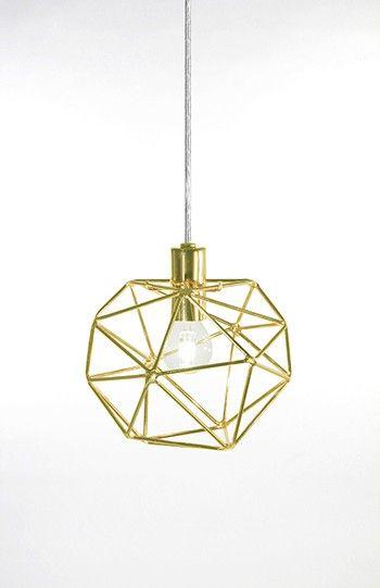 Globen - Diamond fönsterlampa Mässing