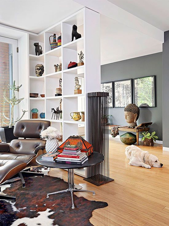 open shelving units living room. Delineate Spaces  In an open living room create subtle division with a 16 best Room dividers images on Pinterest
