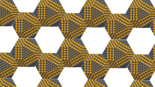 Instead of the usual carbon atoms, artificial graphene is made from crystals of traditiona...