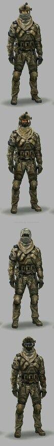 Özel kuvvetler askeri kıyafeti