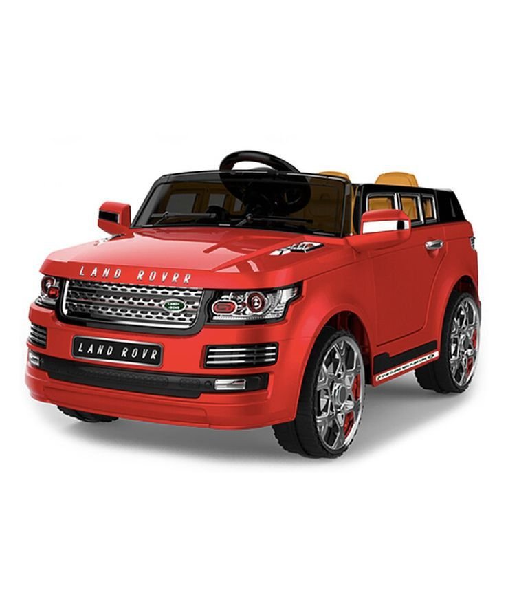 Now your little one can ride like mommy or daddy in this Suv! Can be controlled by your child via steering wheel and pedals or by mom or dad with the included remote controller. Can be driven on hard
