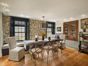 Sycamore Farms - farmhouse - Dining Room - Philadelphia - Sullivan Building & Design Group