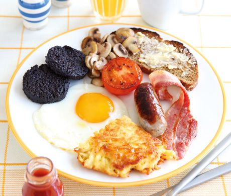 Irish Weekend Fry Up! Pin leads you back to recipe and instructions!