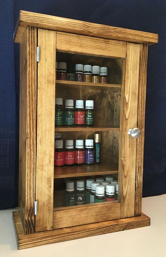 25 best Essential Oils storage shelf / cabinet images on ...