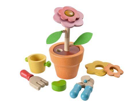 PlanToys Flower Set