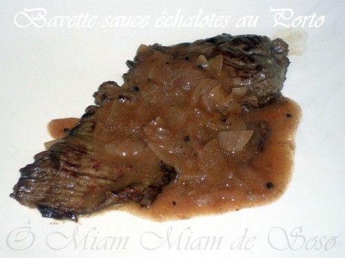Voici une petite sauce que je confectionne très régulièrement pour accompagner bavette ou rôti de boeuf. INGREDIENTS 4 échalotes, 1 belle càs d'huile d'olive, 10cl de porto rouge, 100 ml d'eau, 1,5 càc de fond de veau, sel, poivre du moulin, 20 gr de...