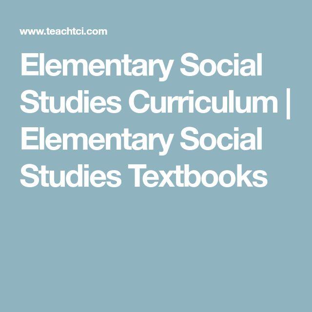 Elementary Social Studies Curriculum | Elementary Social Studies Textbooks
